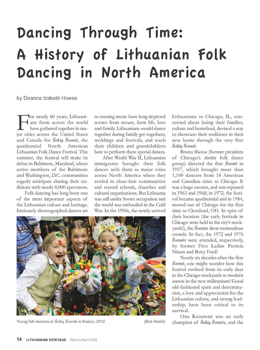 Lithuanian Heritage